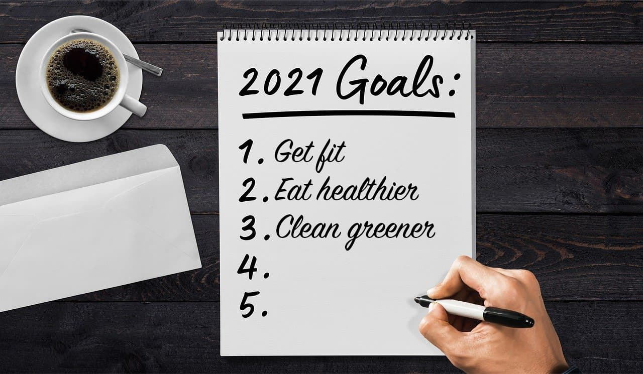 2021 Goals New Year's Resolution